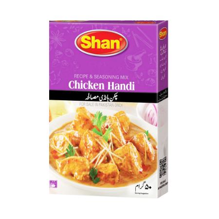 Shan Masala Chicken Handi...