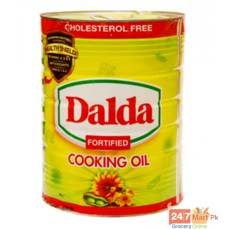 Dalda Cooking Oil Tin 5 ltr