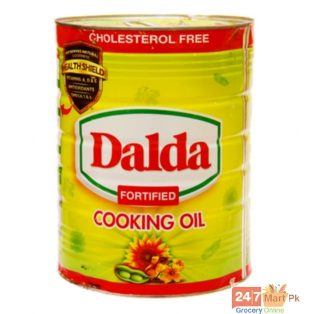Dalda Cooking Oil Tin 5 ltr