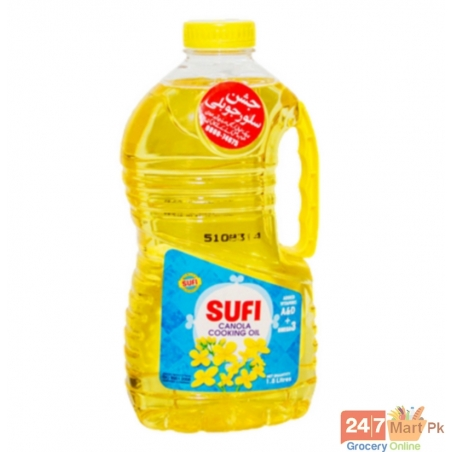Sufi Canola Cooking Oil Bottle 1.8 ltr