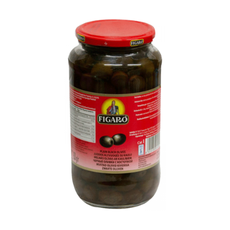 Figaro Olives Black Plain...