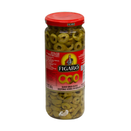 Figaro Olives Green Sliced...