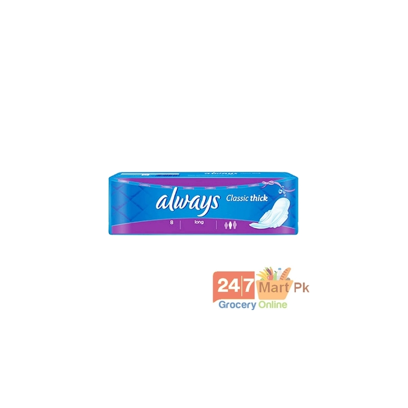 Always Classic Thick Pads Long 8 Pcs