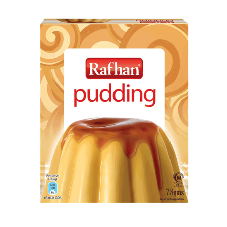 Rafhan Egg Pudding Mix 78 gm
