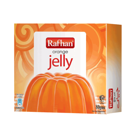 Rafhan Jelly Crystal Orange...