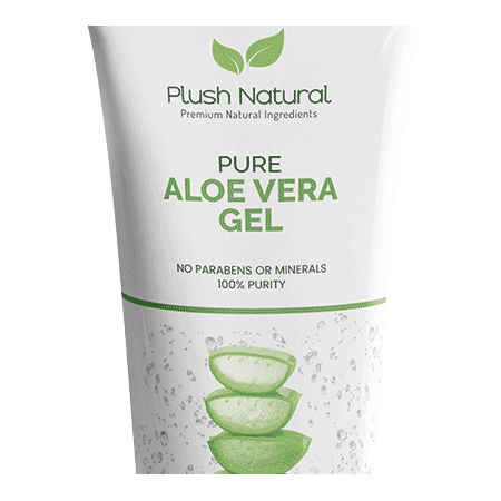Plush Natural Aloe Vera Gel