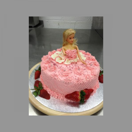 Barbie Birthday Cake -...