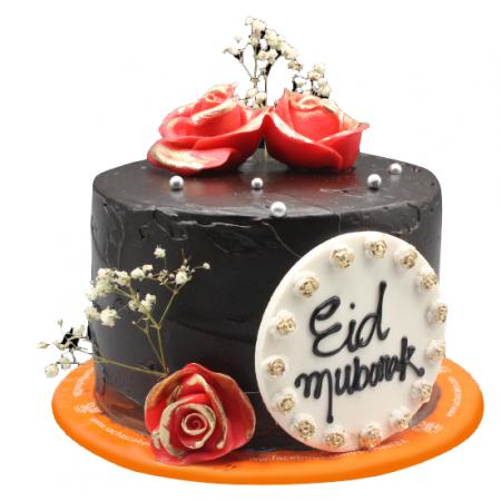 Chocolate Eid Mubarak Cake...