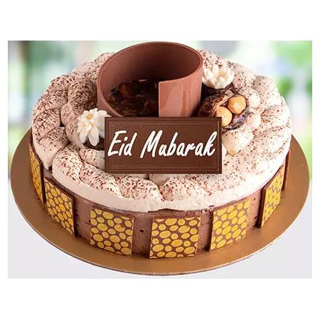 Eid Mubarak Chocolate Cake...