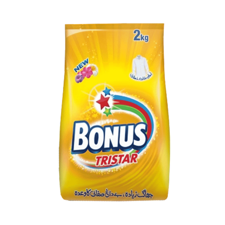 Bonus Washing Powder...