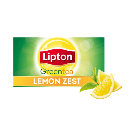 Lipton Green Tea Bags Lemon...