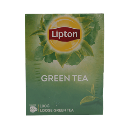 Lipton Green Tea Loose 100 gm