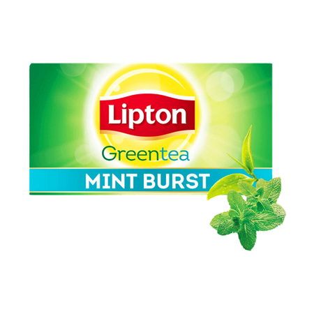 Lipton Green Tea Mint Burst...