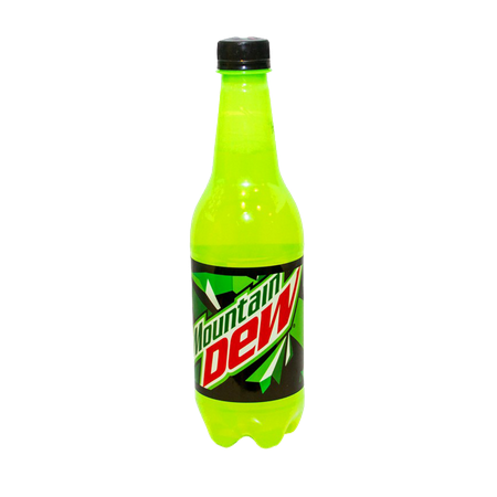 Mountain Dew Bottle 500 ml
