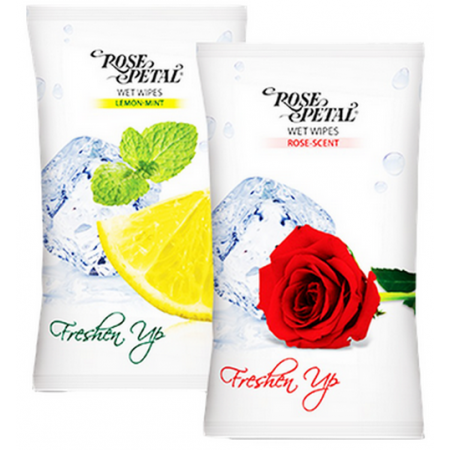 Rose Petal Tissue Wipes 10...