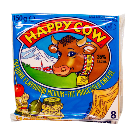 Happy Cow Cheddar Cheese...