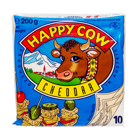 Happy Cow Cheese Cheddar...