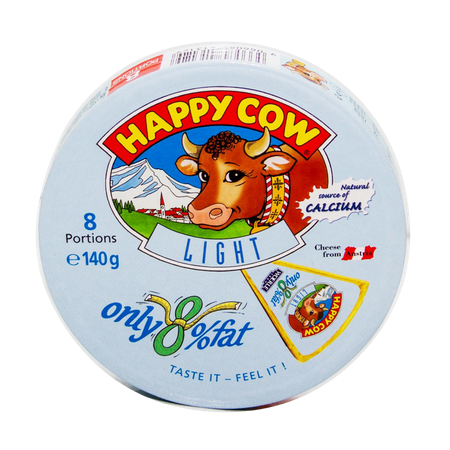 Happy Cow Cheese Low Fat 8...