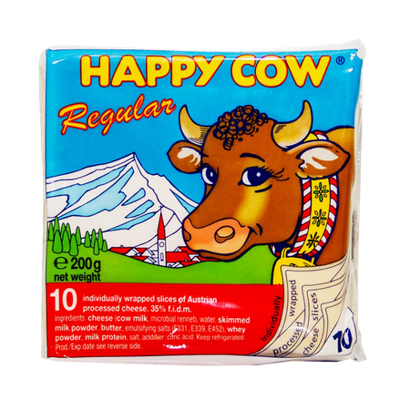 Happy Cow Cheese Regular 10...