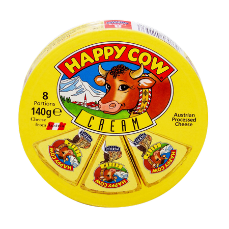 Happy Cow Cream 8 Portions...