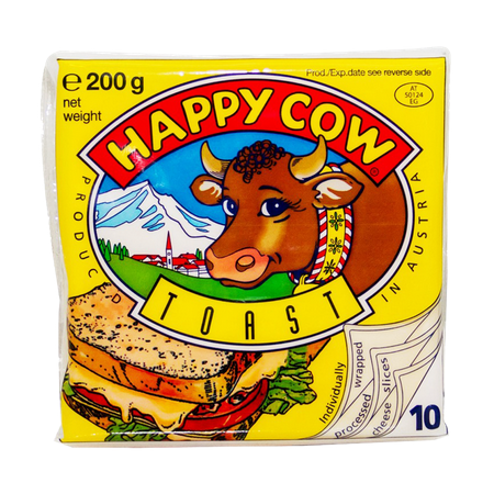Happy Cow Toast Cheese 200 gm