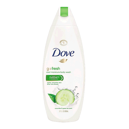 Dove Body Wash Go Fresh...